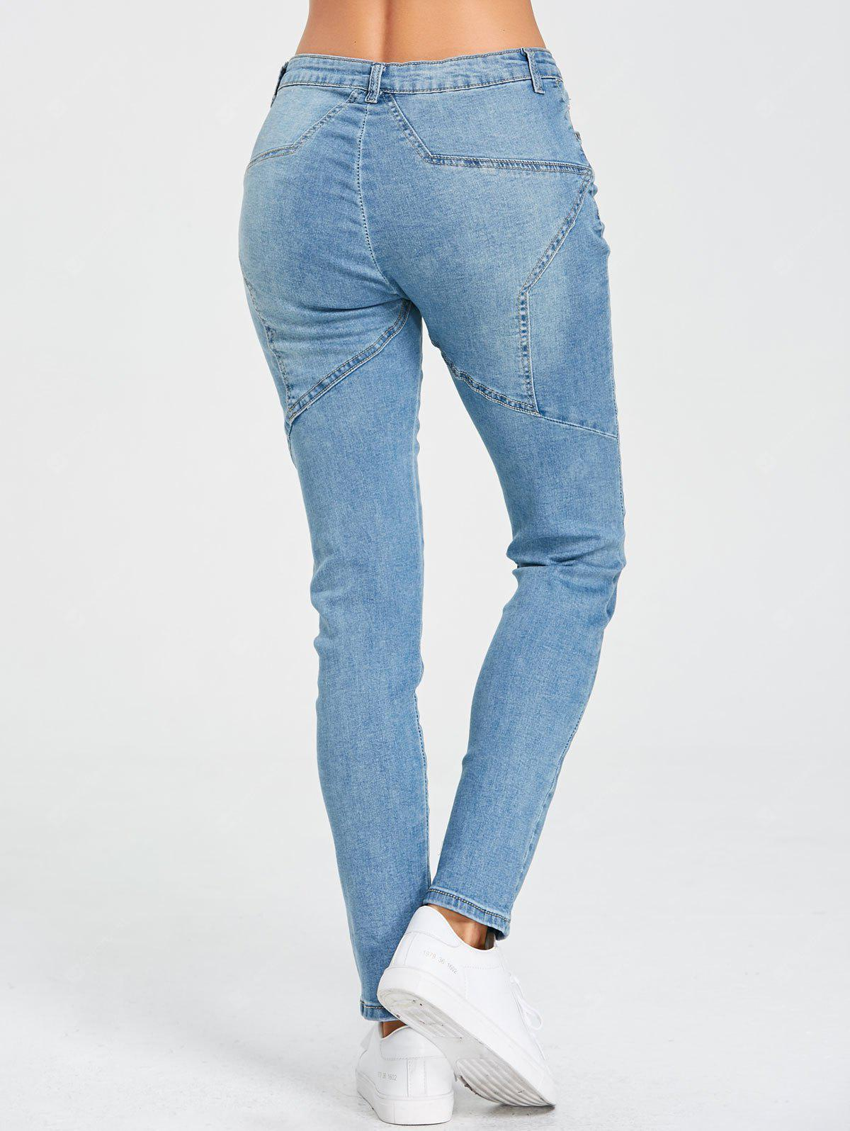 Stern Patchwork Jeans