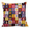 Christmas Decorations Patterned Pillow Case - COLORFUL