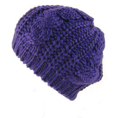 Outdoor Crochet Knitted Slouchy Beanie Hat