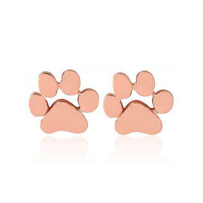 Cute Puppy Claw Tiny Stud Earrings