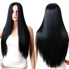 Long Center Parting Straight Capless Synthetic Wig