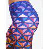 Geometric 3D Print Ombre Leggings - COLORMIX