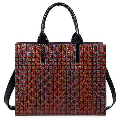 Quilted Embossed Handbag