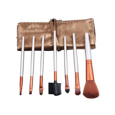 7Pcs Portable Beauty Tools Makeup Brushes Set With Bag