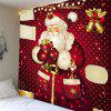 Santa Claus Gifts Polka Dot Patterned Wall Hanging - COLORFUL
