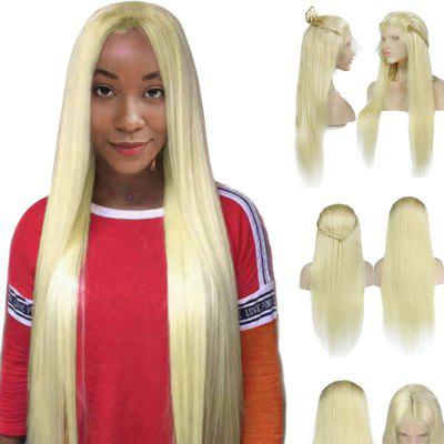 Long Middle Part Braided Straight Lace Front Synthetic Wig
