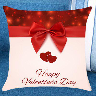 Valentine's Day Bowknot Pattern Pillow Case
