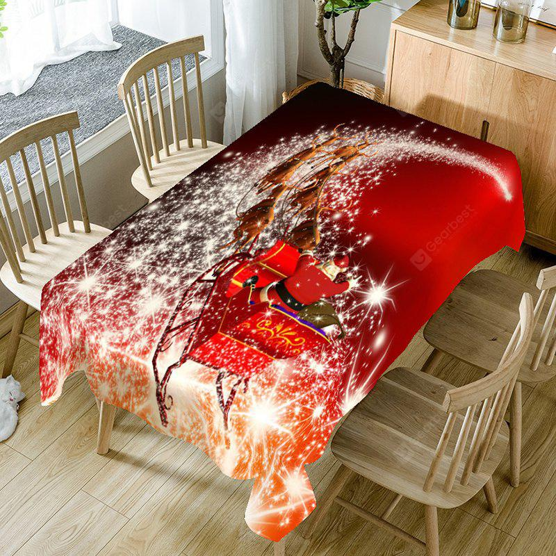 Christmas Starlight Carriage Pattern Table Cloth