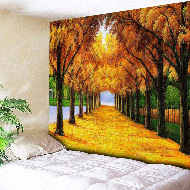 Avenue Tree Print Wall Hanging Tapestry
