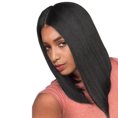 Medium Center Parting Straight Bob Heat Resistant Synthetic Wig