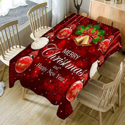 Merry Christmas Theme Home Decoration Table Cloth