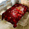 Christmas Bauble Bubble Printed Table Cloth - COLORFUL