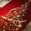 Starlight Christmas Tree Pattern Decorative Table Cloth - COLORFUL