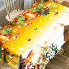Nappe de Table Imperméable Imprimé Noël - MULTICOLORE