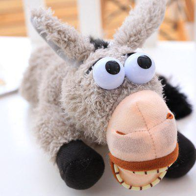 Rolling On The Floor Donkey Fluffy Toy Laughing Donkey