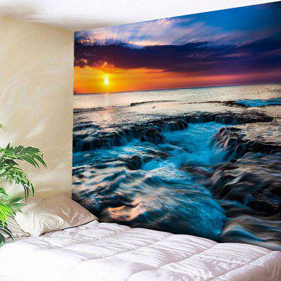 Buy Landscape Printed Wall Hanging Tapestry, COLORMIX, Home & Garden, Home Textile, Bedding, Blankets & Throws for $20.64 in GearBest store