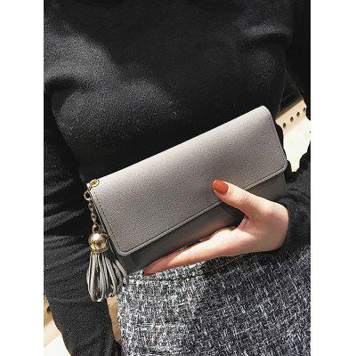 Long Frosted Wallet with Tassel PendantWallets<br>Long Frosted Wallet with Tassel Pendant<br><br>Closure Type: Magnetic Closure<br>Gender: For Women<br>Height: 10CM<br>Length: 18CM<br>Main Material: Polyester<br>Package Contents: 1 x Wallet<br>Pattern Type: Solid<br>Style: Fashion<br>Wallets Type: Clutch Wallets<br>Weight: 0.2300kg<br>Width: 2CM