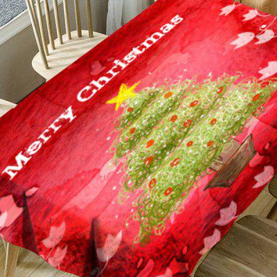 Abstract Christmas Tree Floral Print Waterproof Table ClothTable Accessories<br>Abstract Christmas Tree Floral Print Waterproof Table Cloth<br><br>Material: Polyester<br>Package Contents: 1 x Table Cloth<br>Pattern Type: Christmas Tree, Floral<br>Type: Table Cloth<br>Weight: 0.5000kg