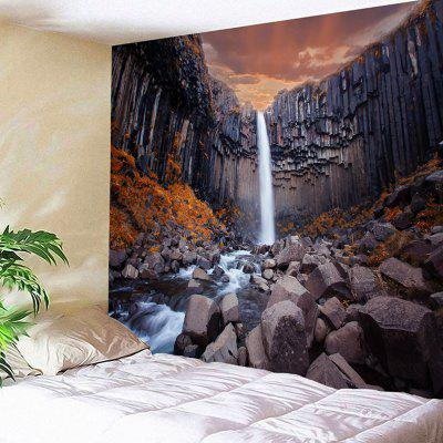 Wall Hanging con Cliff Waterfall Print