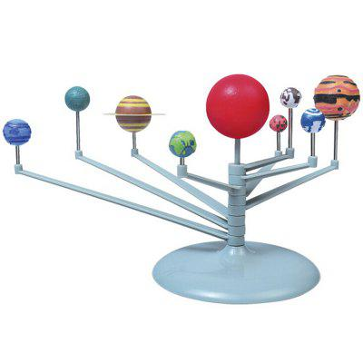 Simulation Solar System DIY Nine Planets Educational Training Toys