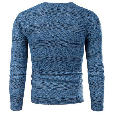 V Neck Knitted Long Sleeve T-shirtMens Long Sleeves Tees<br>V Neck Knitted Long Sleeve T-shirt<br><br>Collar: V-Neck<br>Embellishment: Appliques<br>Material: Cotton, Polyester<br>Package Contents: 1 x T-shirt<br>Pattern Type: Solid<br>Season: Fall, Winter<br>Sleeve Length: Full<br>Style: Fashion, Casual, Streetwear<br>Weight: 0.3300kg