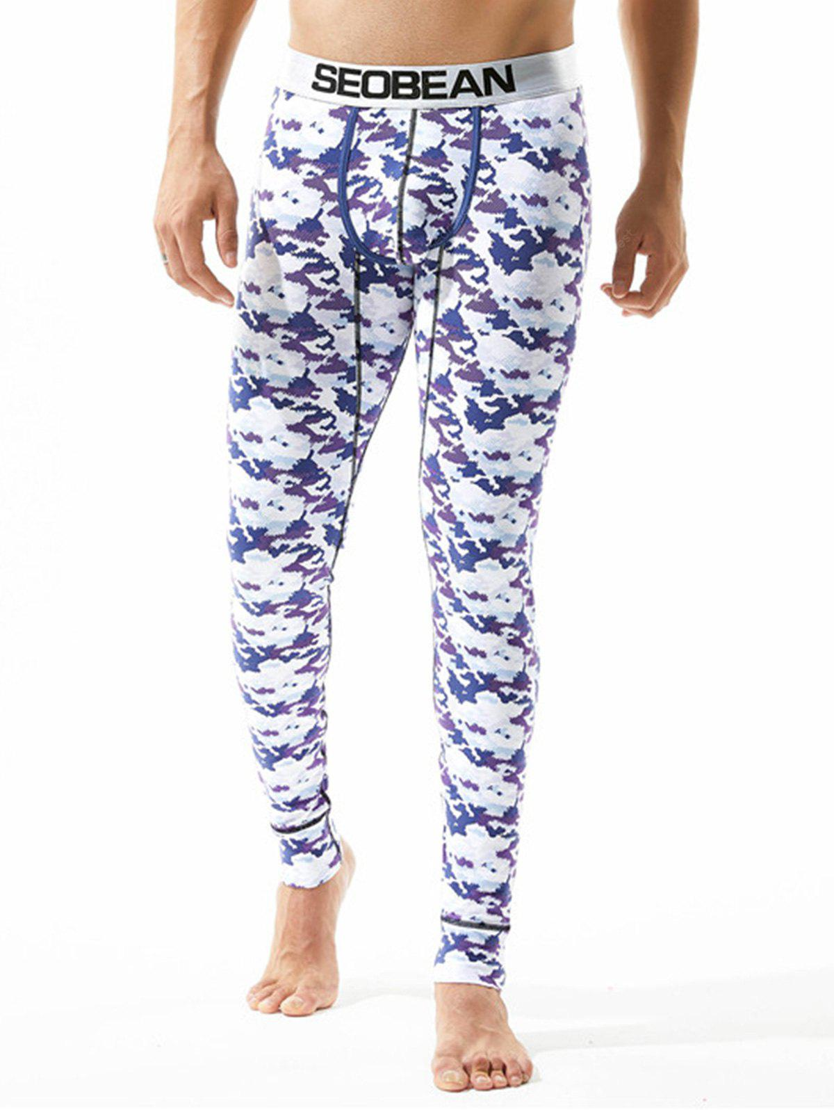Camouflage U Pouch Gym Pants