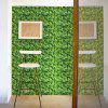 Leaves Pattern Removable Background Wall Cover Sticker - GREEN