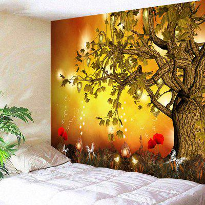 Magic scenery print wall hanging tapestry