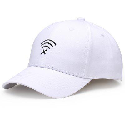 Funny WIFI No Signal Embroidery Decoration Baseball Hat