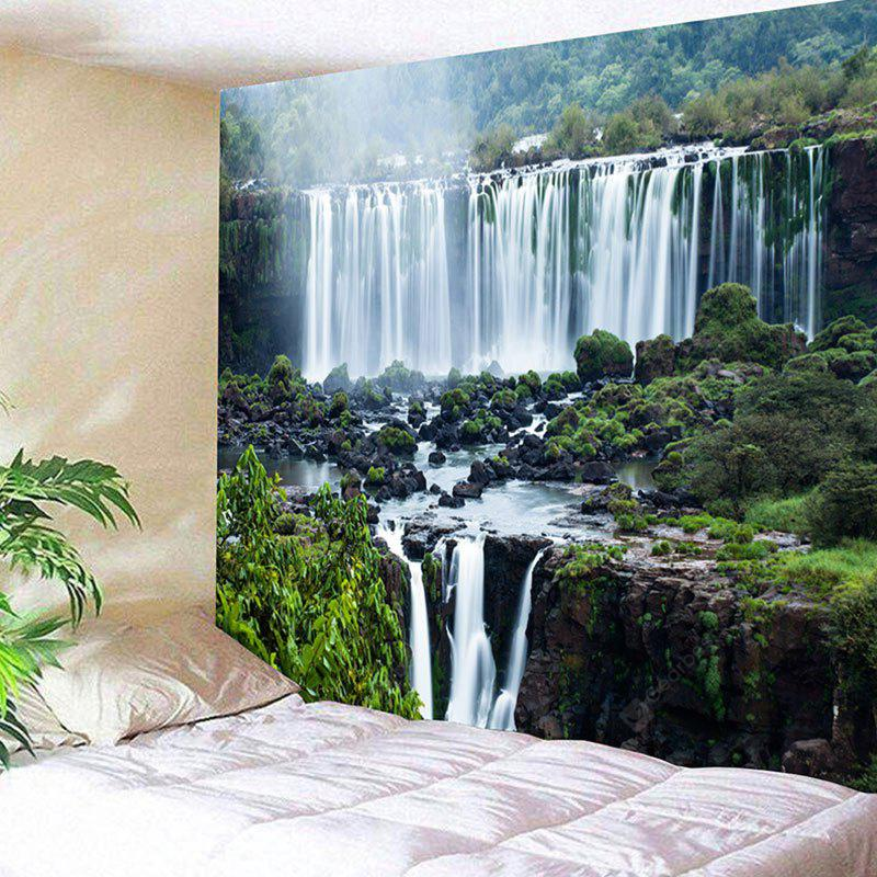 Wall Hanging Waterfall Landscape Print Tapestry