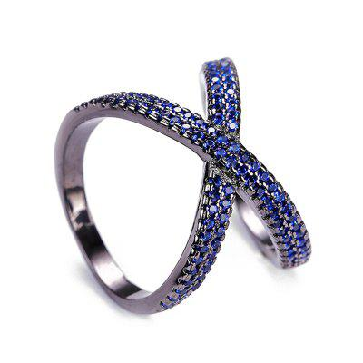 Infinite Faux Crystal Ring