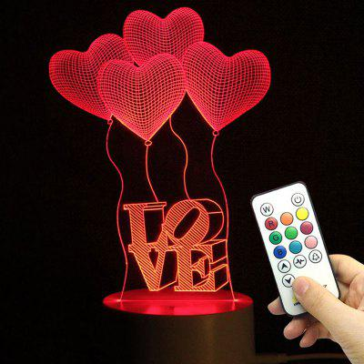 Gearbest Valentine's Day Lamp,Cupid Night Lamp,Birthday Night Lamp,Wedding Speech Lamp,Love Confession Gifts,Color-changing Lamp,Remote Control Night Lamp Lafayette Ad Prokupka