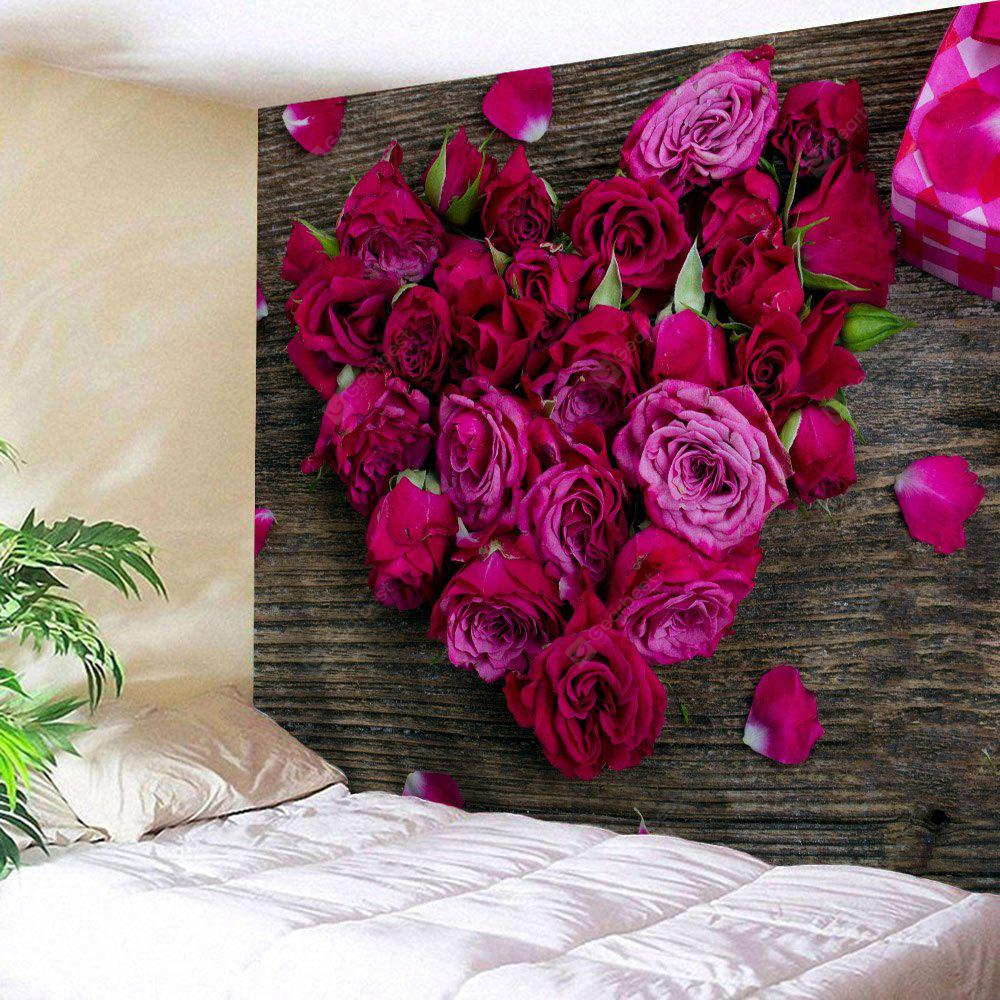 Roses Love Valentine's Day Wall Art Tapestry