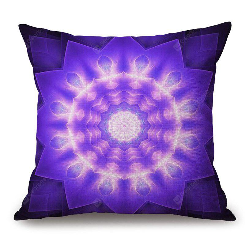 Mandala Print Almofada de algodão decorativa Throw Pillow Case