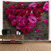 Roses Love Valentine's Day Wall Art Tapestry - COLORMIX