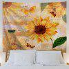 Tapestry Butterfly Wall Hanging Hanging - MARRONE CHIARO