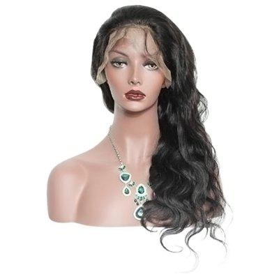 Long Free Part Body Wave Synthetic Lace Front Wig