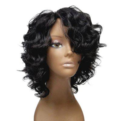 Short Side Bang Shaggy Loose Wave Synthetic WigHair Extensions &amp; Wigs<br>Short Side Bang Shaggy Loose Wave Synthetic Wig<br><br>Bang Type: Side<br>Cap Construction: Capless<br>Length: Short<br>Length Size(CM): 30<br>Material: Synthetic Hair<br>Package Contents: 1 x Wig<br>Style: Wavy<br>Type: Full Wigs<br>Weight: 0.1600kg