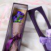 Valentine's Gifts Flower Bouquet 3 Scented Soap Roses Gift Box - ROXO