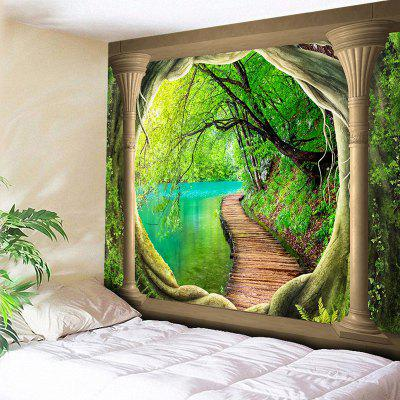 Natural Landscape Print Wall Hanging Tapestry