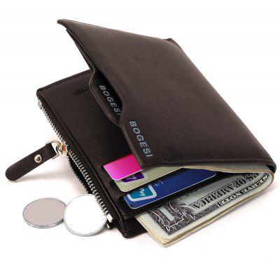 Bi Fold PU Leather Wallet