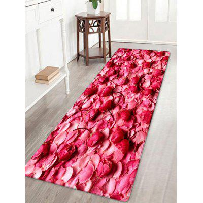 Pétales Saint-Valentin Pattern Water Absorption Area Rug