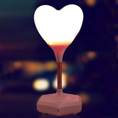 Confession of Love Heart Enregistrement sonore Télécommande Night Light