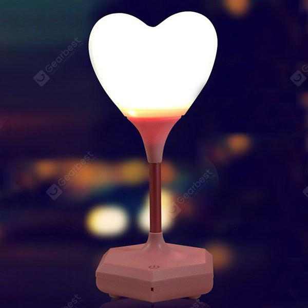 Confession of Love Heart Grabación de sonido Remote Control Night Light