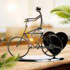 Valentine's Gift Heart Shaped Iron Bicycle Music Box - METáLICO