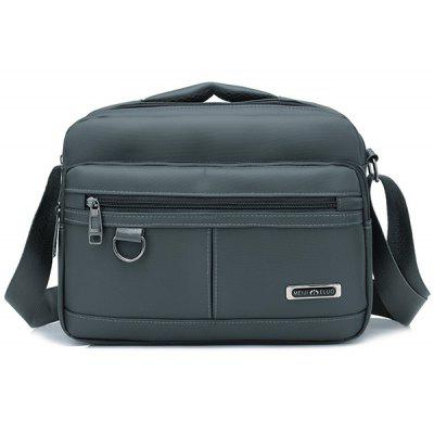 Nylon Crossbody Bag With Handle