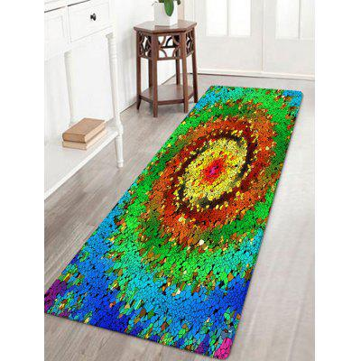 Tapis de zone d'absorption de l'eau de motif vortex coloré