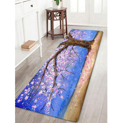 Tapis d'arbre de Floral Tree Pattern Absorption d'eau