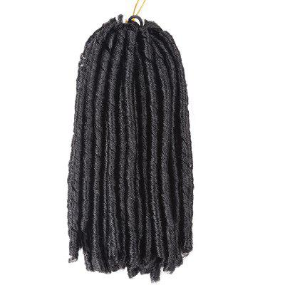 Short Dreadlocks Crochet Braids Synthetic Hair Extension short