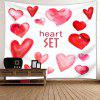 Dia dos Namorados Love Confession Background Hanging Tapestry - ROSA